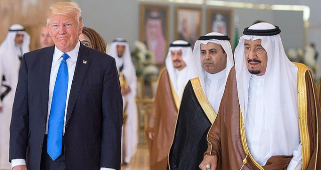 Suudi Kral Selman Trump'ın İsteği Kabul Etti